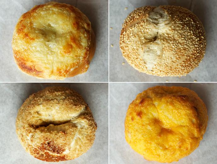 Swiss | Sesame | Cheddar | Cinnamon