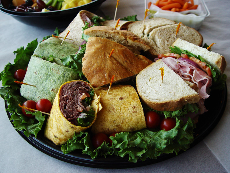 Sandwich & Wrap Tray