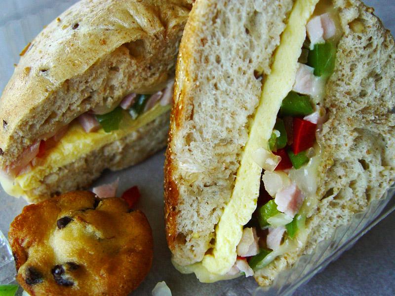 Westerner Breakfast Sandwich